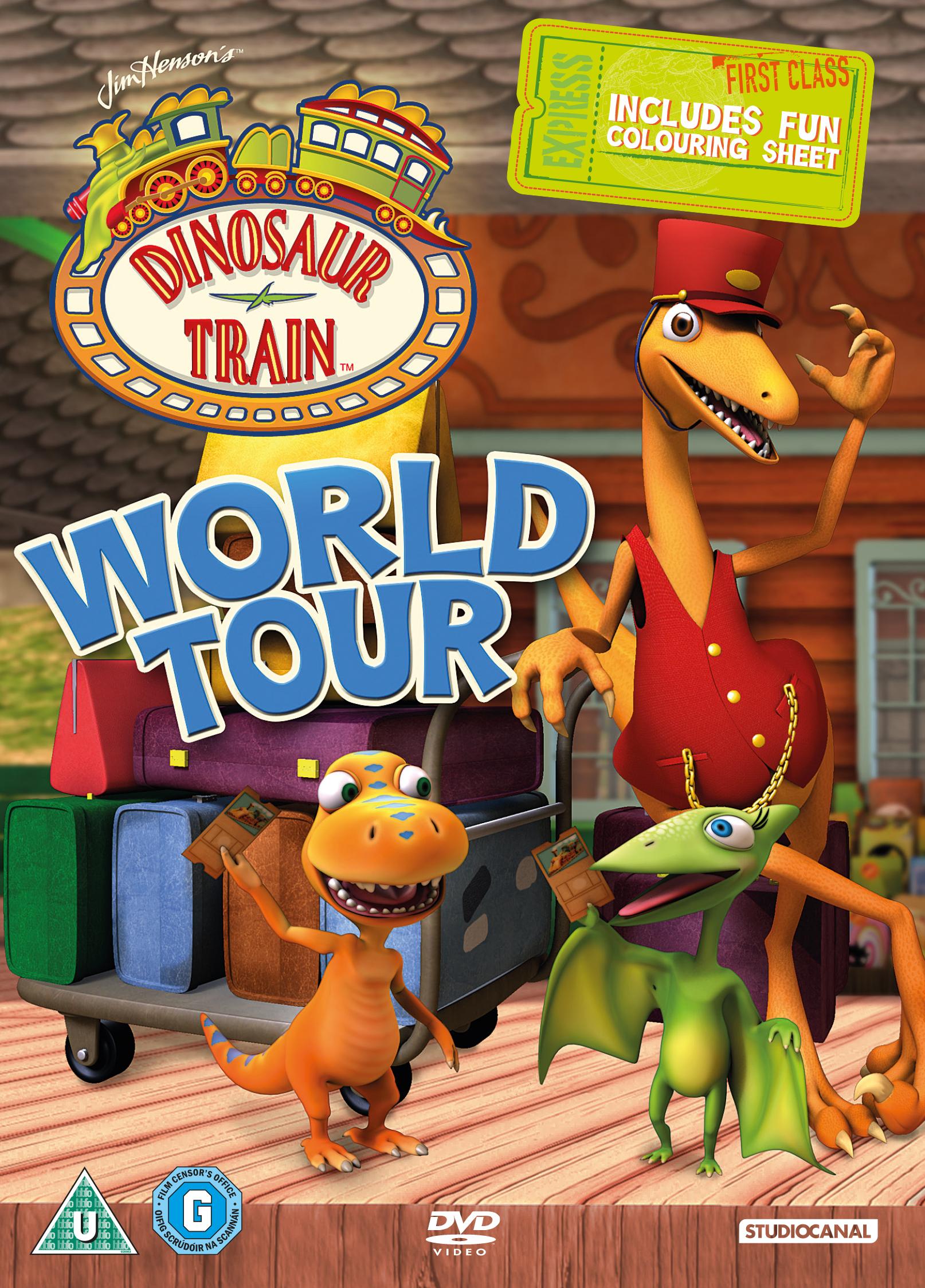 美国儿童节目「恐龙火车」儿童音乐冒险节目系列dvd